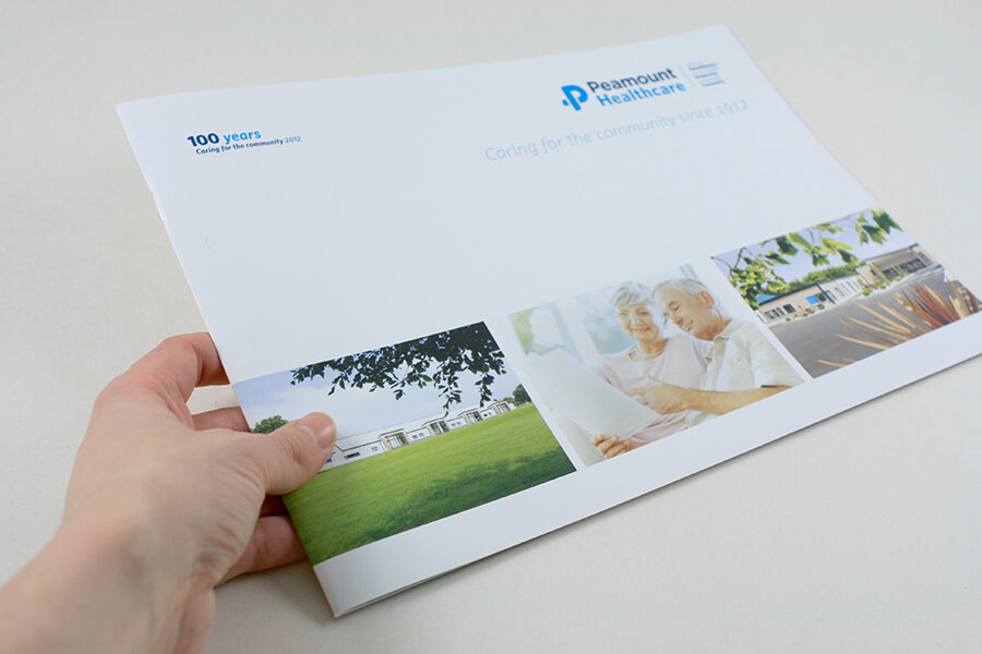 Brochure for Peaumont Healthcare.