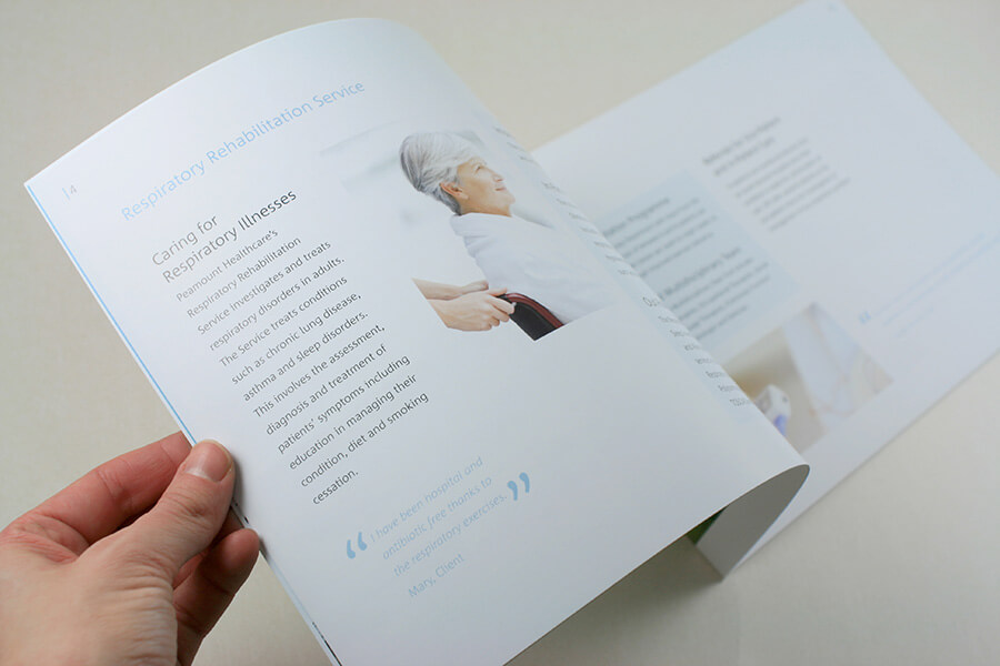 Brochure for Peaumont Healthcare