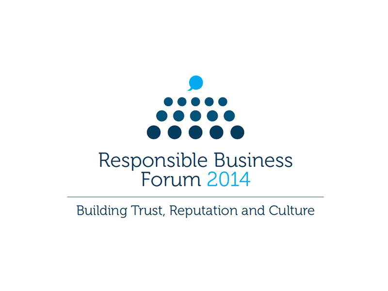 Logo for Responsible Business Forum 2014 (recommended).