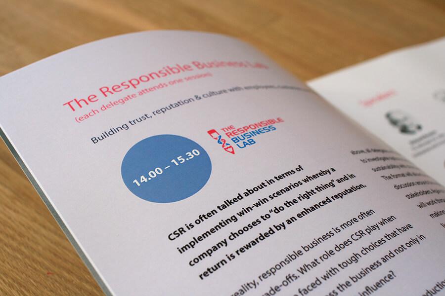 Responsible Business Forum's brochure