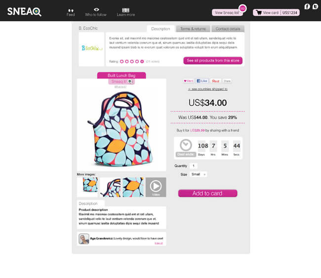 SNEAQ_website_shop item