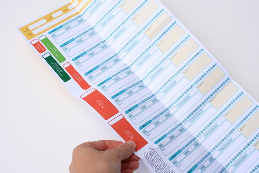 Baby Health & Development Records Booklet.