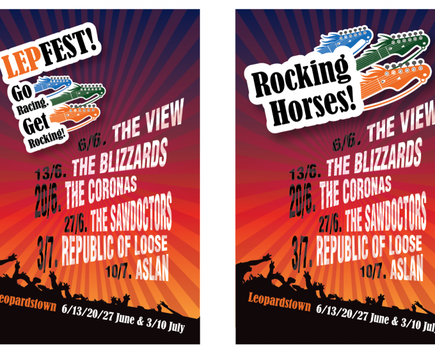 Poster for LepFest/Rocking Horses