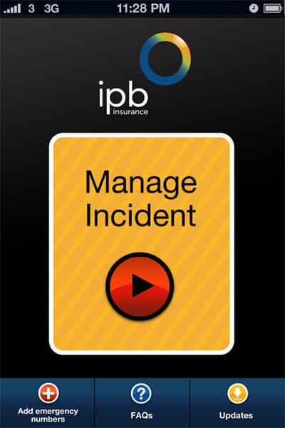 App design –proposal for ibp insurance.