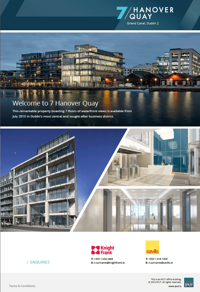 7 Hanover Quay by IPUT – holding page