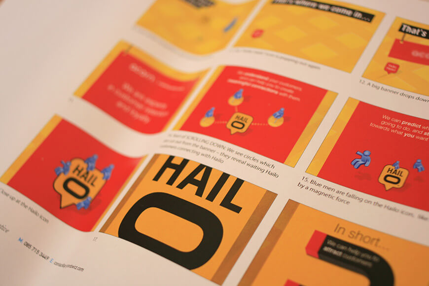 Hailo – animated direct mail / video