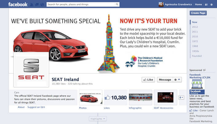 SEAT Rocket_Facebook page