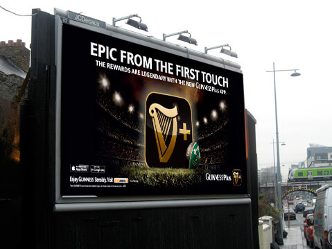 Guinness Series ad campaign_6sheet