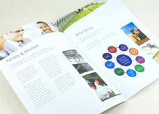 Brochure for Farrelly & Mitchell