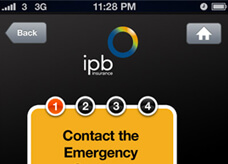 App design for IBP insurance