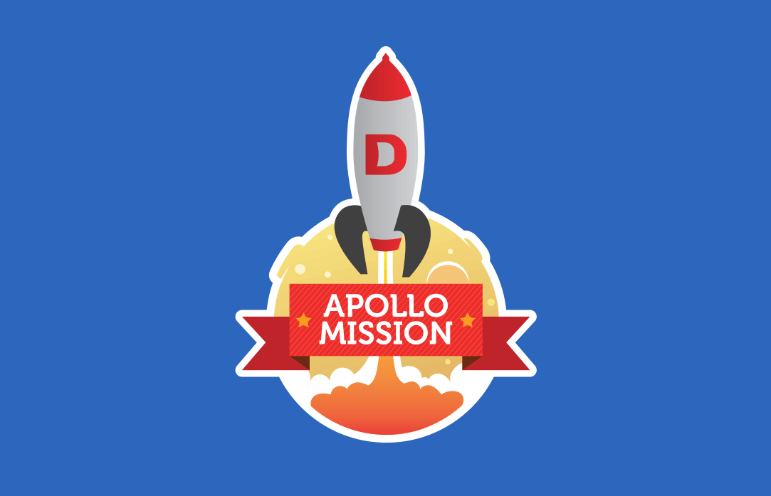 Appolo Mission – sticker for DoneDeal.
