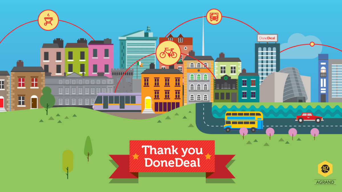 Illustration for Done Deal_thank you slide