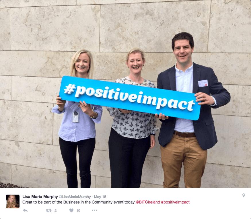 BITCI #positiveimpact map's launch