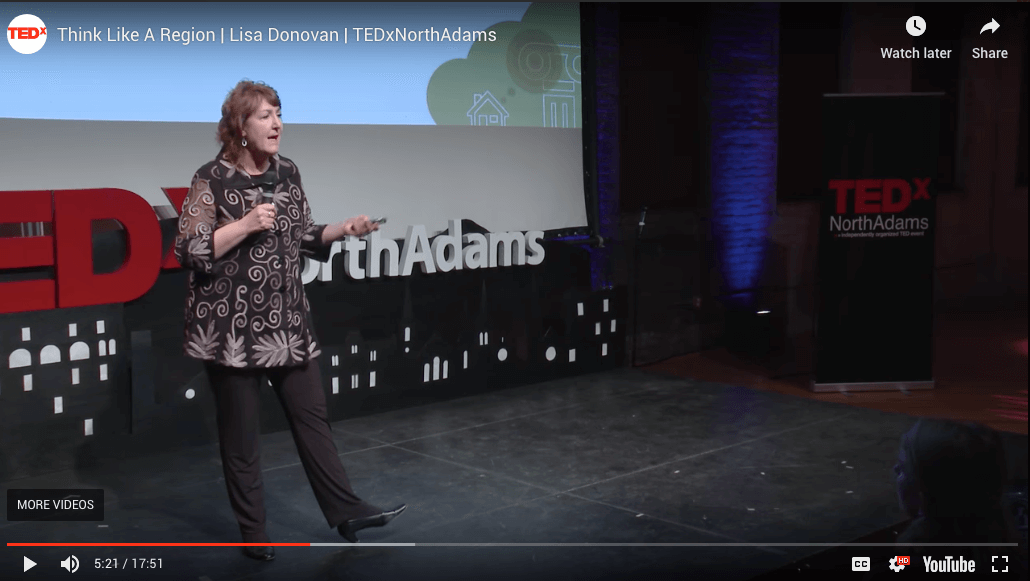 Lisa Donovan of Massachusetts College of Liberal Arts at TEDx.