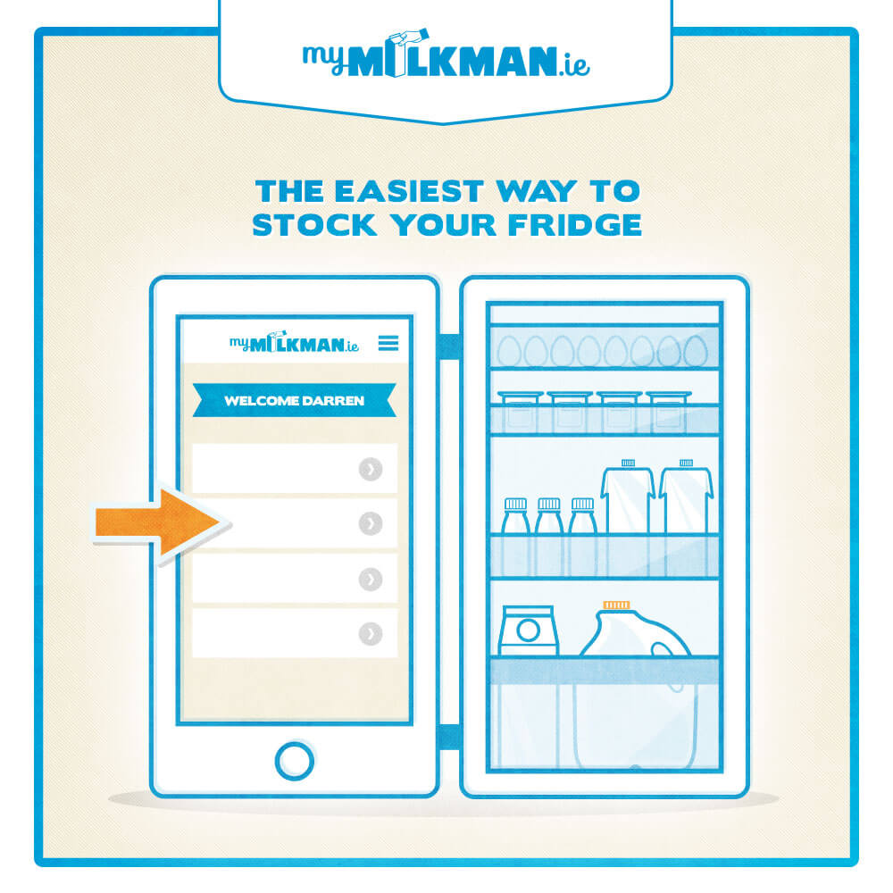 MyMilkman.ie - Convenience.