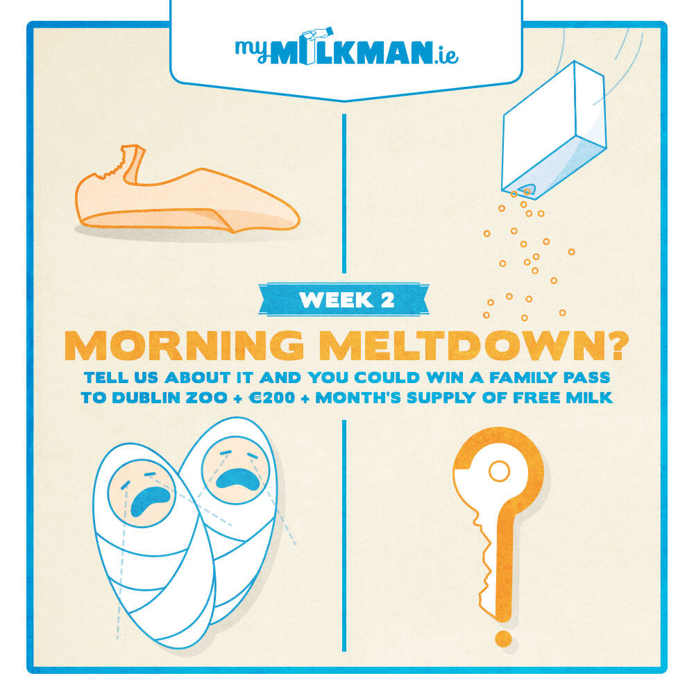 MyMilkman.ie – Morning Meltdown.