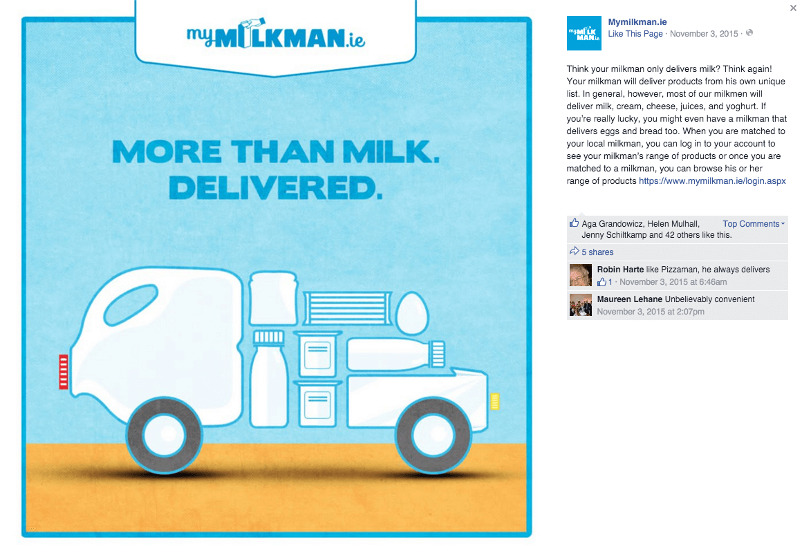 MyMilkman.ie – delivery