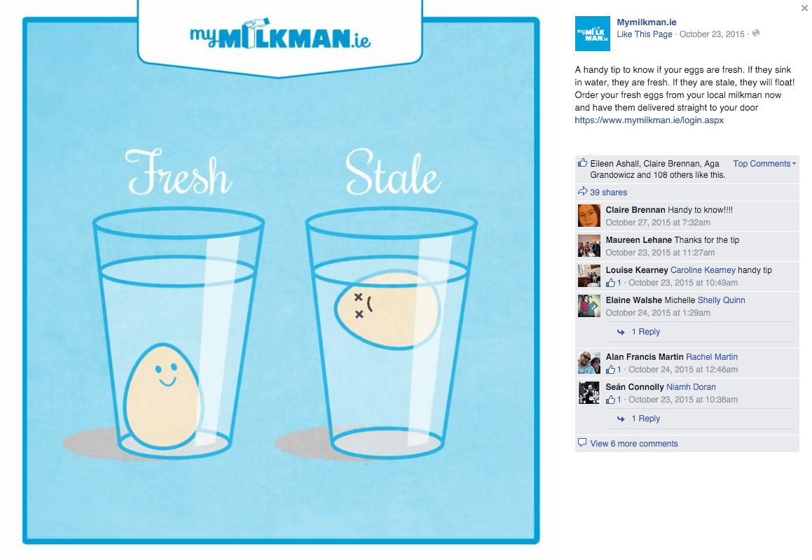 MyMilkman.ie – eggs