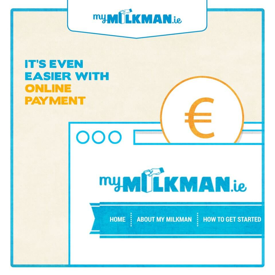 MyMilkman.ie – online payments