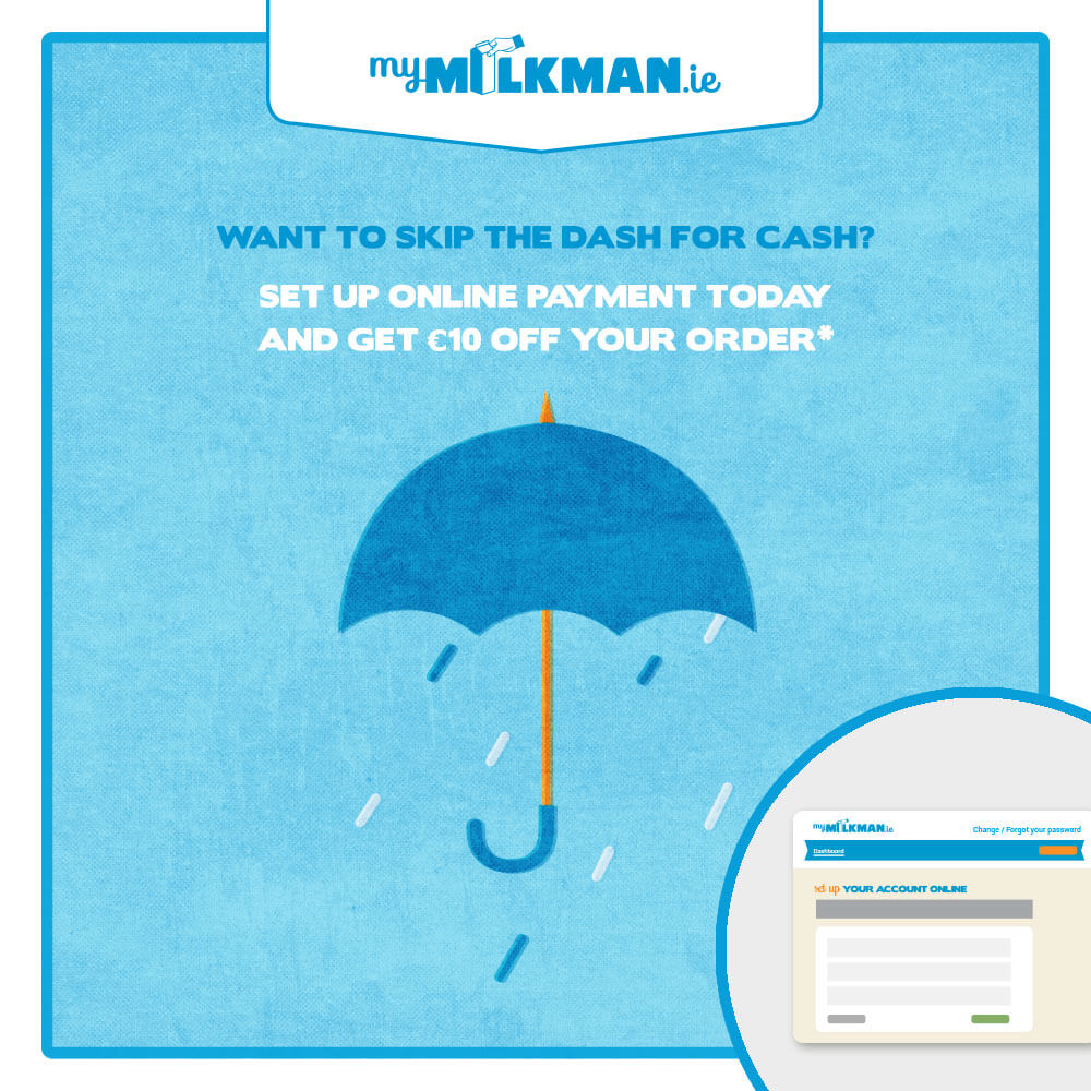 MyMilkman.ie – online payments.