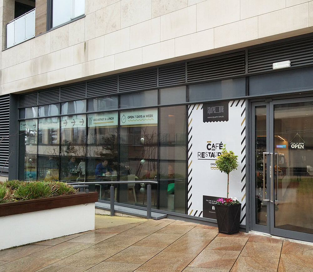 Shop front - Square One cafe in Sandyford