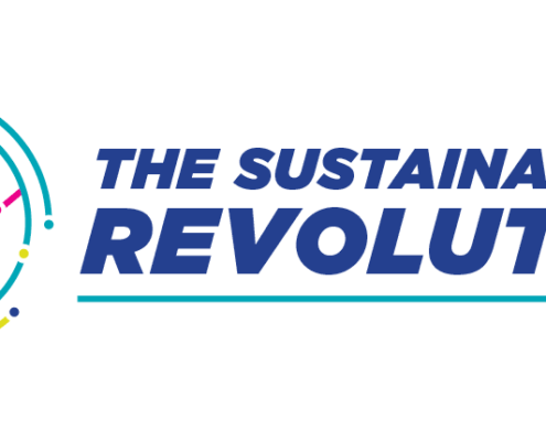 Logo for a sustainability-related event –design by Aga Grandowicz