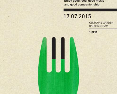 Piano Picnic 1 –poster design by Aga Grandowicz