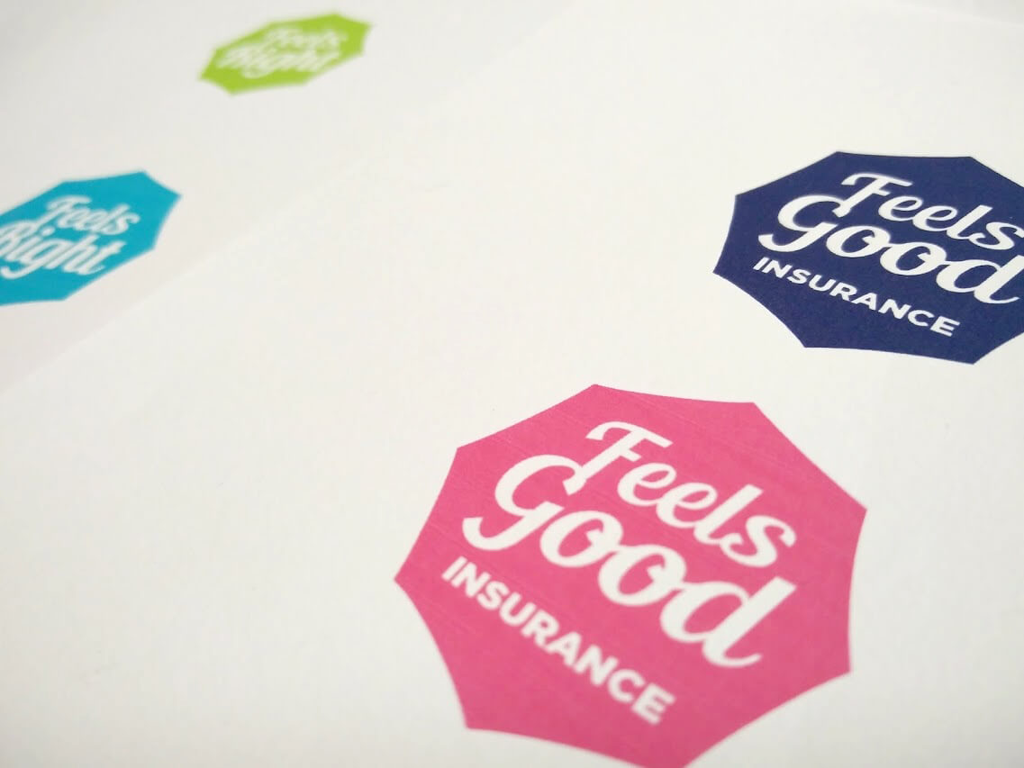 Feels Good Insurance_logo design by Aga Grandowicz/agrand.ie