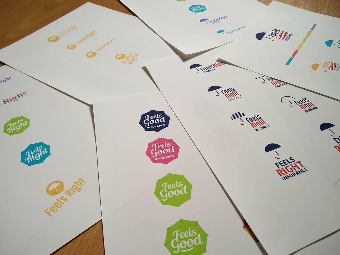 Feels Good/Right_logo design by Aga Grandowicz/agrand.ie