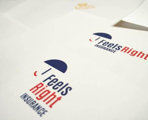 Feels Right Insurance_logo design by Aga Grandowicz/agrand.ie